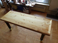 Hand Crafted ONE OF A KIND Coffee Table