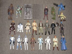 Modern Star Wars Action Figures and Collectibles Lot