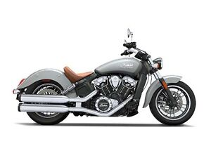 2016 Indian Scout Silver Smoke