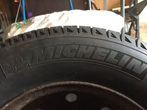 Michelin Winter tires XIce Xi2 with rims  215/70 R16 $500