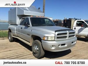 2002 Dodge Ram 3500 SLT Extd Cab 4X4 5.9L Cummins, VMAC Compress