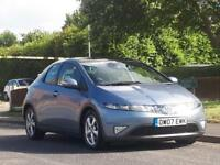 Honda Civic 2.2i-CTDi ( 17in Alloys ) ES, 1 owner full mot nice car