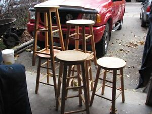 STOOLS WOODEN Kitchener / Waterloo Kitchener Area image 1