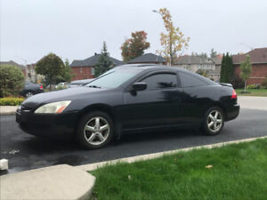 2003 Honda Accord Coupe 5MT