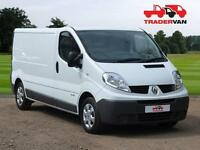 2014 Renault Trafic LL29 2.0 DCI 115ps Long Wheel Base Panel Van with Tail gate