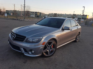 IMMACULATE C63 AMG with rare P31 Performance Package