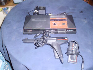 SEGA MASTER WITH GAMES AND TV