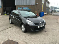 2008 RENAULT CLIO 1.2 16v 75 A/C EXPRESSION 3 DR 75000 MILES WARRANTED