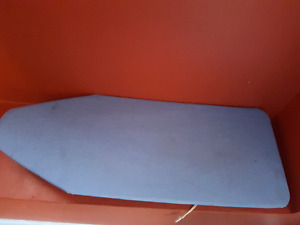 Ironing board small to use on bed tables etc