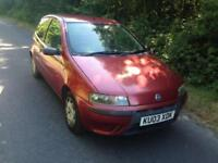 FIAT PUNTO 1.2 ACTIVE 3 DOOR *LOW MILEAGE* SERVICE HISTORY*