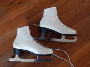 2 pairs of good quality women's figure skates