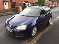 2007 vw golf gt tdi 140 2.0 diesel 3dr (not gti civic a3 a4 polo)