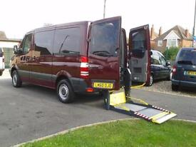 2010 Mercedes Sprinter SWB Diesel AUTOMATIC Wheelchair Disabled DRIVER TRANSFER