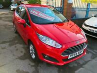 Ford Fiesta 1.25 ( 82ps ) 2014, Zetec,red,2 owners,stunning car,allloys,33k.....