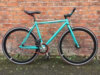 Create Custom Built Single Speed Road Bike 19 Inch Frame Excellent Condition