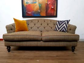 Tetrad Dalmore 2 seater sofa in harris tweed RRP £1645