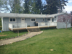 House on 5 acres 15 min from Quesnel