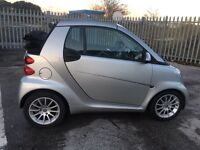 Smart Fortwo passion Auto Convertible cheapest 2010 on net low miles. Full Mot