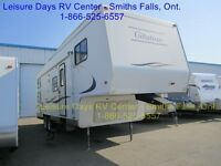 2001 Citation Lite 295H Fifth Wheel