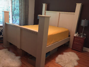 Gorgeous Modern/Unique Queen Bed Frame