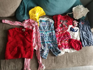 Girls clothing mix from 0 to 9m