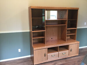 Entertainement wall unit
