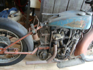 Wanted 1932-43 Indian Junior scout motorcycles   or parts
