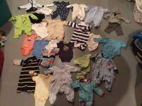 New born boys clothes and premie clothes
