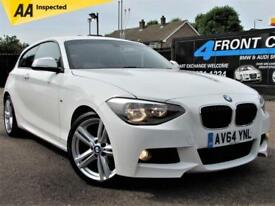 2015 BMW 1 SERIES 116I M SPORT 3DR MANUAL PETROL HATCHBACK PETROL