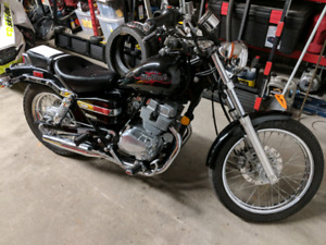 2006 Honda Rebel 250 - extremely low kms
