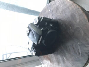 Nikon D90 with extra equipment
