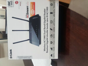 D-link ac1900 dual-band router