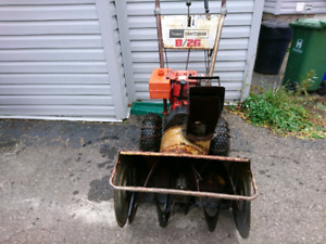 Craftsman 8hp snowblower 26""