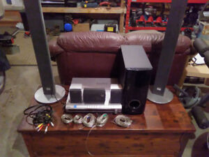 Home theater system. All wiring included