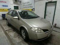 2003 NISSAN PRIMERA 2.2 DCI YD22 BREAKING FOR PARTS