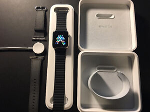 42mm Apple Watch Stainless Steel Case with AppleCare+ Kitchener / Waterloo Kitchener Area image 1