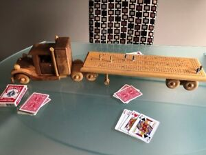 Cribbage Board Wooden