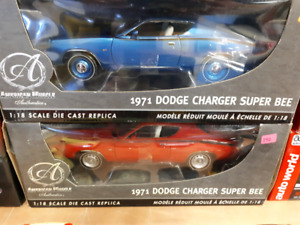 American Muscle Authentics 1971 Dodge Charger Super bee 1:18