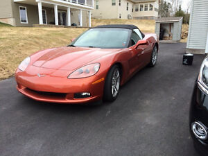 2005 Corvette - Convertible - Sunset Daytona Orange