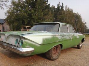 1961 chevy  4 door sedan