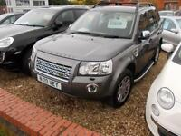 Land Rover Freelander 2 2.2Td4 auto 2008 SE 4X4 2 owners FSH LOW MILES 79K