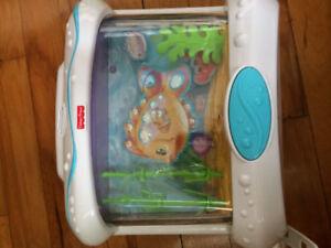 Aquarium avec télécommande