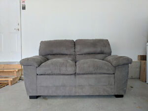 Two and Three Seater Set Couch - Grey