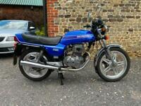 Honda CB250N Superdream Blue 1979 Low Mileage Restored Bike Historic Tax