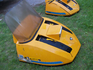 1972 Ski-doo Olympique Snowmobile Hood with Windshield Peterborough Peterborough Area image 2