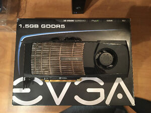 NVIDIA EVGA GTX 480 --> MINT, Send Trades/Offers, FREE Delivery