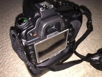 Nikon d90 with battery pack