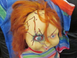 Chucky Doll with Talking Stand.