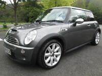 04/04 MINI COOPER S 3DR HATCH IN MET GREY WITH MINI SERVICE HISTORY