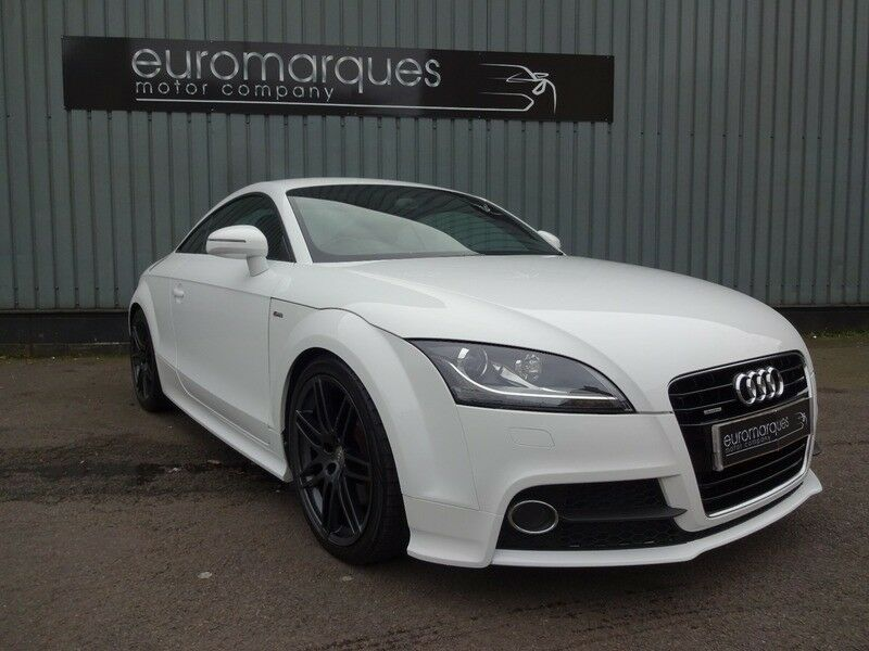 audi tt 2 0 tdi coupe quattro s line white 2010 in east end glasgow gumtree. Black Bedroom Furniture Sets. Home Design Ideas